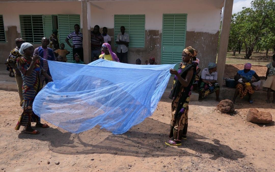 Klamboes tegen malaria
