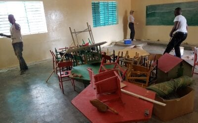 Climate in Burkina and some renovations to the nursery school of Oualana