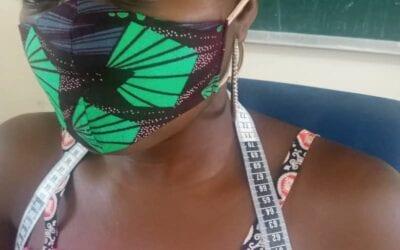 COVID19: Steun project voor het maken van mondkapjes