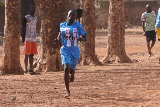Athletic competition by students of the agricultural school in Burkina Faso