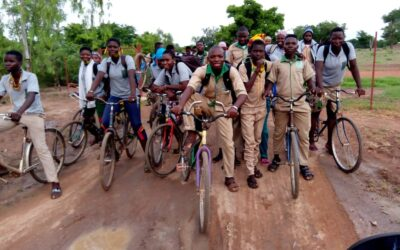 Refugees and news about agricultural school in Burkina Faso