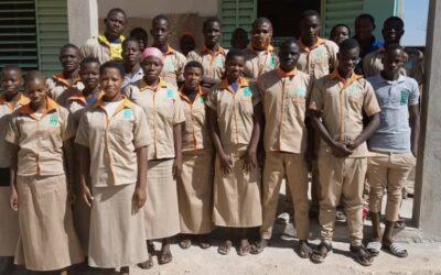 Help kinderen om te studeren op de middelbare agrarische school (LAP)