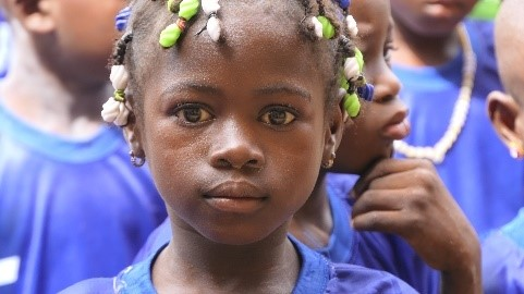 Sad news this week and the end of the school year of nursery schools in Burkina Faso